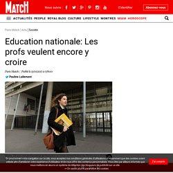 Education nationale: Les profs veulent encore y croire