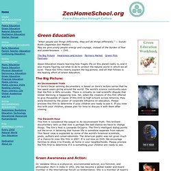 Zen Home Education: Green Education, Natural World, Sustainable Living