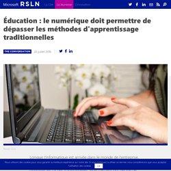 Education : le numérique est bien plus qu'un outil