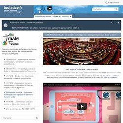 ÉDUCATION CIVIQUE - Un schéma numérique pour expliquer le parcours d'une loi en 3e - toutatice.fr