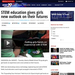 STEM education gives girls new outlook on their futures