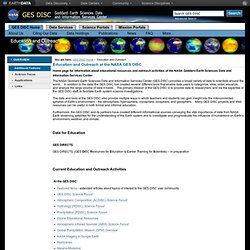 SCIENCE FOCUS: DEAD ZONES — GES DISC: Goddard Earth Sciences, Data & Information Services Center