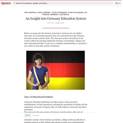 An Insight into Germany Education System