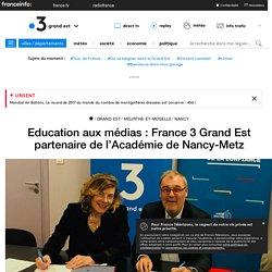 Education aux médias : France 3 Grand Est partenaire de l'Académie de Nancy-Metz - France 3 Grand Est