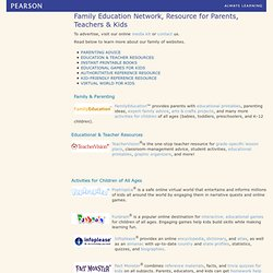 Family Education Network, Resource for Parents, Teachers & Kids – PearsonSchool.com - Pearson School Sampling