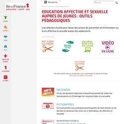Education affective et sexuelle auprès de jeunes : outils pédagogiques