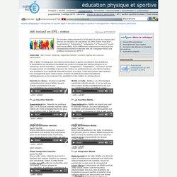 éducation physique et sportive - défi inclusif en EPS - vidéos