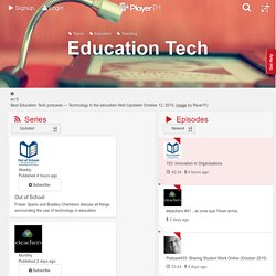 Best Education Tech Podcasts (August, 2015)