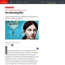 Education and policy: Re-educating Rita
