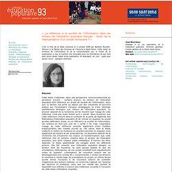 « La référence à la société de l'information dans les milieux de l'éducation populaire français : levier de la réactualisation