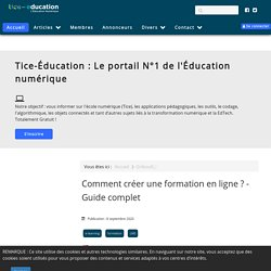 Tice Education : Le portail de l'Éducation numérique