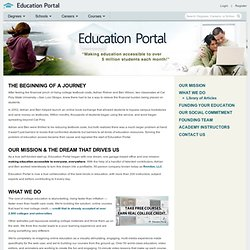 Information about Education-Portal.com