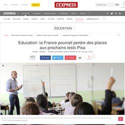 Education: la France pourrait perdre des places aux prochains tests Pisa