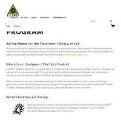 Education Pricing Program