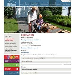 Éducation – Niveau primaire - Maison St-Gabriel – Musée et site historique