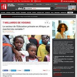 Le secteur de l'Education primaire en Afrique, un marché très rentable ?