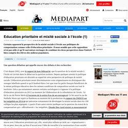 Education prioritaire et mixité sociale à l'école (1)