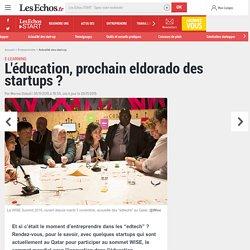 L'éducation, prochain eldorado des startups ?
