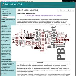 Education-2025 - Project-Based Learning