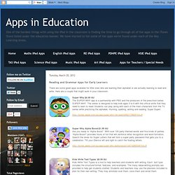 Reading and Grammar Apps for Early Learners
