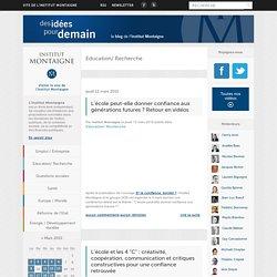 Education/ Recherche (Institut Montaigne)