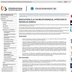 Éducation à la vie relationnelle, affective et sexuelle (EVRAS)