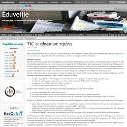 TIC et éducation: repères
