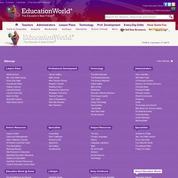 Education World® : Curriculum : Sub Station: Tips and Resources