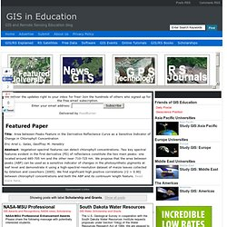 GIS in Education: Scholarship and Grants
