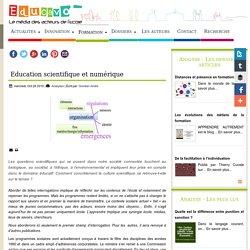 Education scientifique et numérique