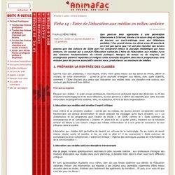 Un atelier : la fiche pratique d'Animafac