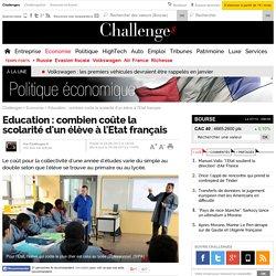 Education : combien coûte la scolarité d'un élève à l'Etat français - 30 août 2013