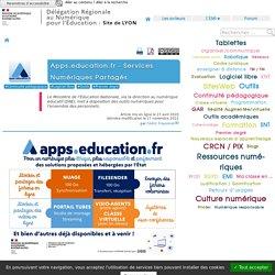 Apps.education.fr - Services Numériques Partagés