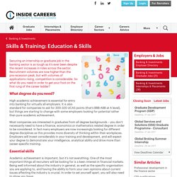 Education & Skills