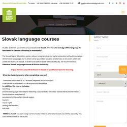 Higher Medical Education Slovakia