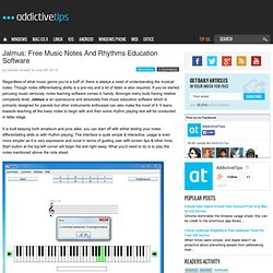Free Music Notes And Rhythms Education Software For Pianists