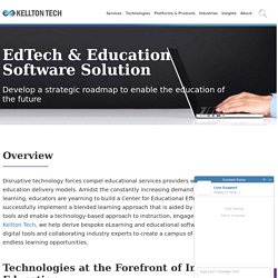 Rethink Education with EdTech solutions