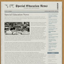 Special Education News | specialednews.com