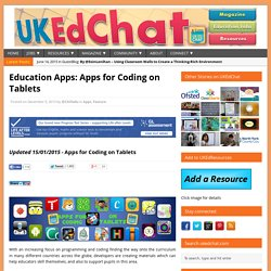 Education Apps – Eleven Apps for Coding on Tablets