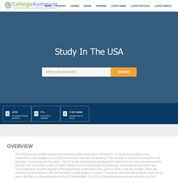 Study in the usa, Education System In The USA st collegekampus