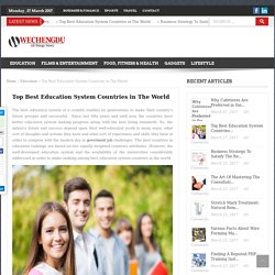 Top Best Education System Countries in The World