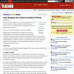 How Blogging Can Improve Student Writing