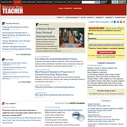 Education Week Teacher: News and Information for Teacher Leaders