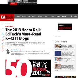 The Best K-12 Education Technology Blogs