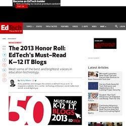 The Best K-12 Education Technology Blogs