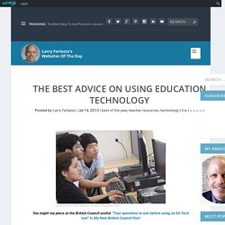 The Best Advice On Using Education Technology