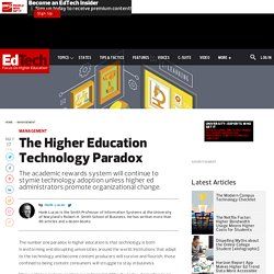 The Higher Education Technology Paradox