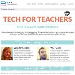 Education Technology Tools for Teachers