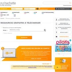 Hachette Education - Téléchargement gratuit
