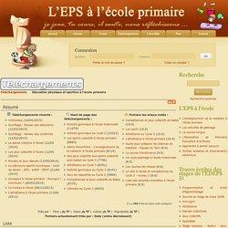 Education physique et sportive à l'école primaire - Téléchargements : L'EPS A L'ECOLE PRIMAIRE